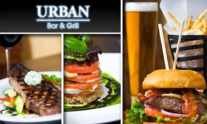 Urban Bar & Grill - Gaslamp: $20 for $45 Worth of Chic American Fare at Urban Bar and Grill