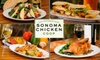 Sonoma Chicken Coop - San Jose: $7 for $15 Worth of Freshly Prepared Dishes and Drinks at Sonoma Chicken Coop