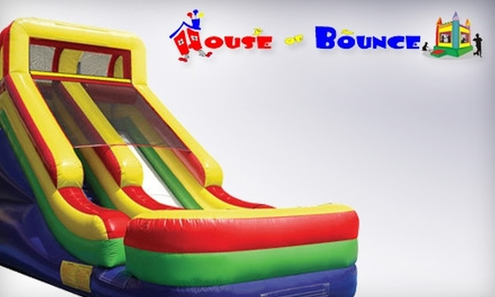 House of Bounce - Wall: $19 for Five Open-Jump Passes at House of Bounce