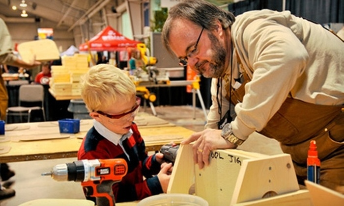 The Great Outdoors & DIY Weekend - Malton: $15 for Two Adult Admission Tickets to The Great Outdoors & DIY Weekend Show at The International Centre (Up to $30 Value). Three Dates Available.