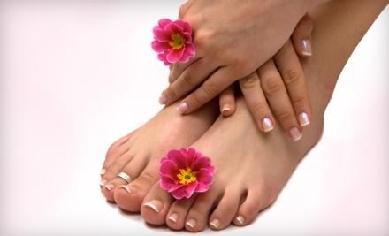 Minx Salon and Spa: Spa Pedicure and Axxium Manicure - Minx Salon and Spa in Loomis