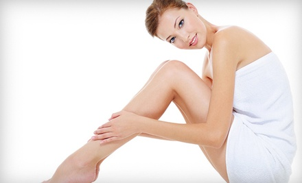 3 Laser Hair-Removal Treatments (up to a $950 value) - Advanced Skin Care Solutions] in Sherwood