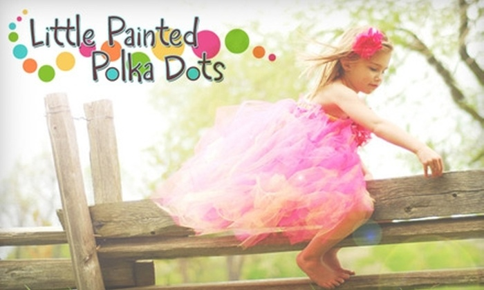 Little Painted Polka Dots: $12 for $25 of Personalized Jewelry, Wall Art, and Other Merchandise from Little Painted Polka Dots