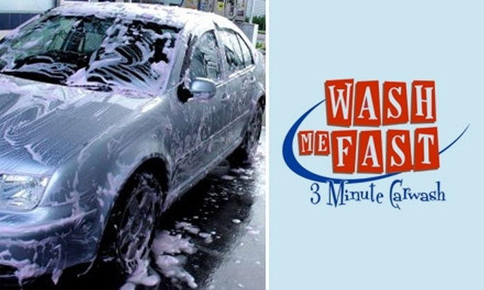 Wash Me Fast - Southchase: $4 for a Car Wash and Vacuum at Wash Me Fast ($12 Value)
