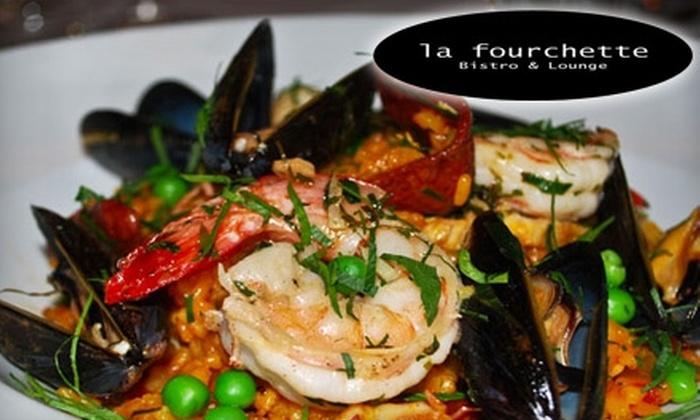 La Fourchette - Peachtree Park: $19 for $40 Worth of Upscale European Fare and Drinks at La Fourchette