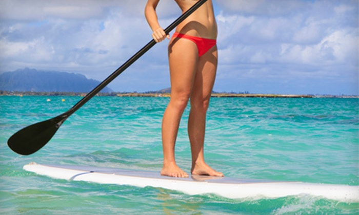 SUPstanding Paddle - Solana Beach: Standup Paddleboarding Lesson for One or Two from SUPstanding Paddle in Encinitas (Up to 55% Off)