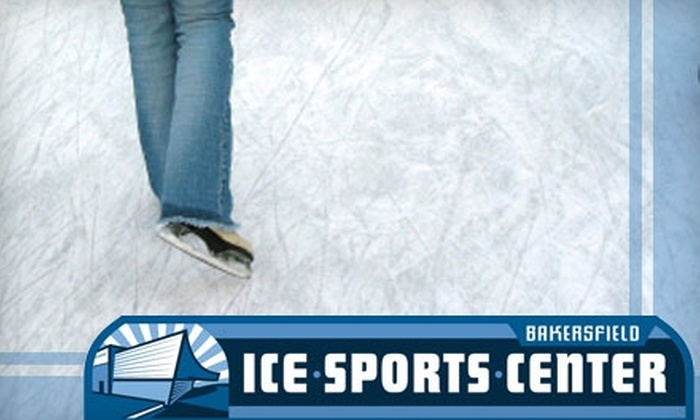 Bakersfield Ice Sports Center - Downtown Bakersfield: $7 for Admission, Skate Rental, and Eats at Bakersfield Ice Sports Center ($16.27 Value)