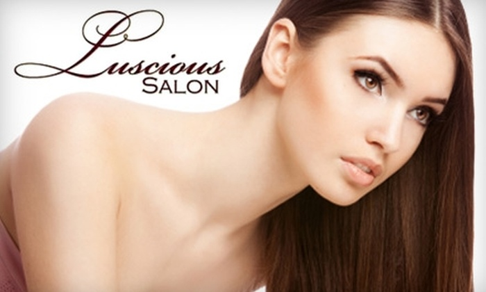 Luscious Salon - Lodi: $99 for a Keratin Complex Smoothing Treatment, Haircut, and Style at Luscious Salon ($227 Value)