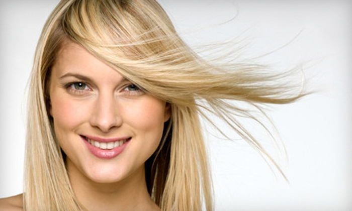 Colour Central Hair Studio - Colour Central Hair Studio: Haircut Package Including Wash and Blow-Dry with Optional Colour at Colour Central Hair Studio in Thornhill (Up to 71% Off)