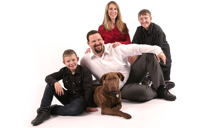 $25 for a Photo-Shoot Package with Print and Membership at Tracy 1 Hour Portraits & Gifts ($84.99 Value)