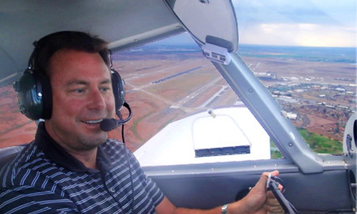 Flying High LLC - Mesa: $99 for an Introductory Flight Lesson at Flying High LLC in Mesa ($203.75 Value)