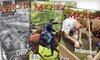 """Michigan History"" Magazine - Kalamazoo: $9 for a One-Year Subscription to ""Michigan History"" Magazine ($19.95 Value)"