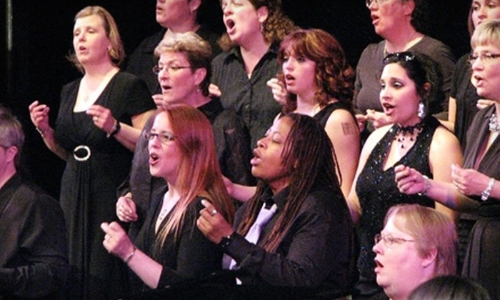 "Sistrum, Lansing Women's Chorus - Downtown: $12 for Two Tickets to ""Singing the Journey"" by Sistrum, Lansing Women's Chorus ($24 Value). Two Dates Available."