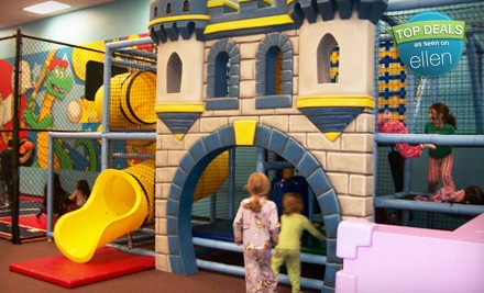 5 All-Day Play Passes - Kidz Kastle in Warwick