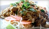 Thai Palms - Fresno: $12 for $25 Worth of Thai Lunch Fare at Thai Palms Restaurant & Bar (or $15 for $30 Worth of Dinner)