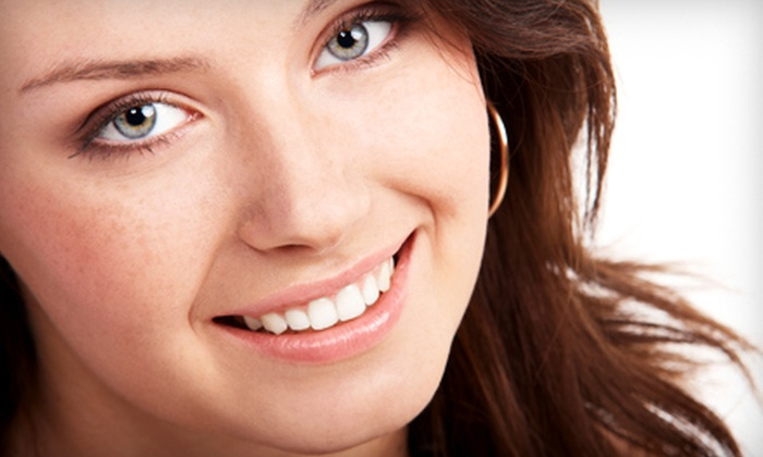 Christopher Clark DDS, PA - Multiple Locations: Zoom! In-Office Whitening Treatment with Dental-Care Package or Take-Home Whitening Treatment with Dental-Care Package from Christopher Clark DDS, PA (Up to 84% Off). Five Options Available.