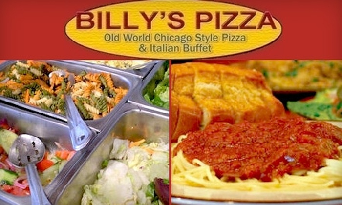 Billy's Old World Pizza - Central Colorado City: $10 for $20 Worth of Chicago-Style Italian Fare at Billy's Old World Pizza