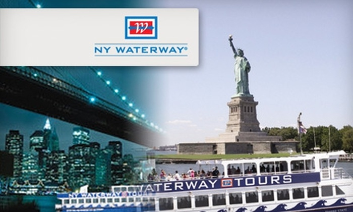 NY Waterway Tours - Borough Park: $15 for One of Three Boat Tours with NY Waterway Tours (Up to $26 Value)