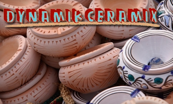 Paintable Ceramics 10 At Dynamik Ceramix In Fort Collins Dynamik Ceramix  Groupon
