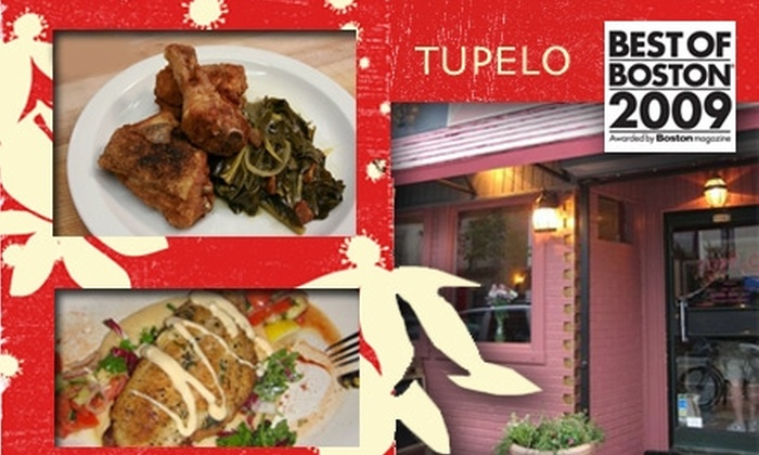 Tupelo - Inman Square: $25 for $50 Worth of Southern Comfort Food at Tupelo