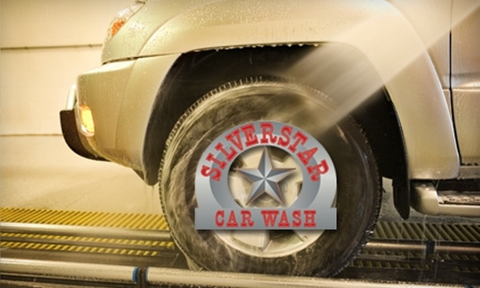Silverstar Car Wash - Sioux Falls: $14 for One Month of Unlimited Car Washes at Silverstar Car Wash ($29.95 Value)