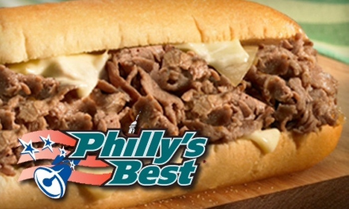 Philly's Best - Multiple Locations: $10 for $20 Worth of Philly Cheesesteaks, Hoagies, and Drinks at Philly's Best. Choose from Three Locations.