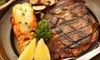 Half Off Steak-House Fare at The Royal Cut Restaurant in Ontario