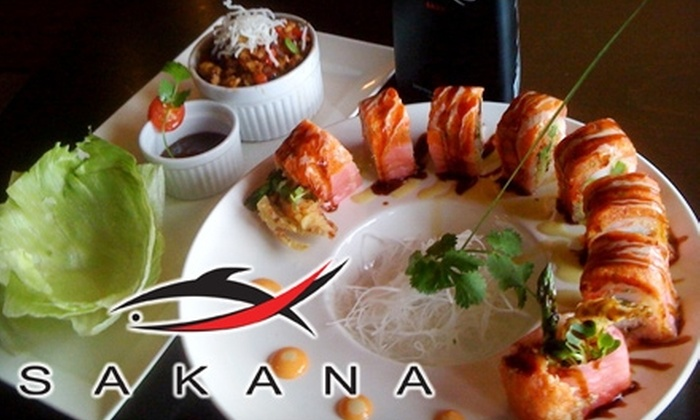 Sakana Sushi & Asian Bistro - Minneapolis / St Paul: $20 for $40 Worth of Sushi and Authentic Japanese Dinner at Sakana Sushi & Asian Bistro in Wayzata (or $10 for $20 Worth of Lunch)