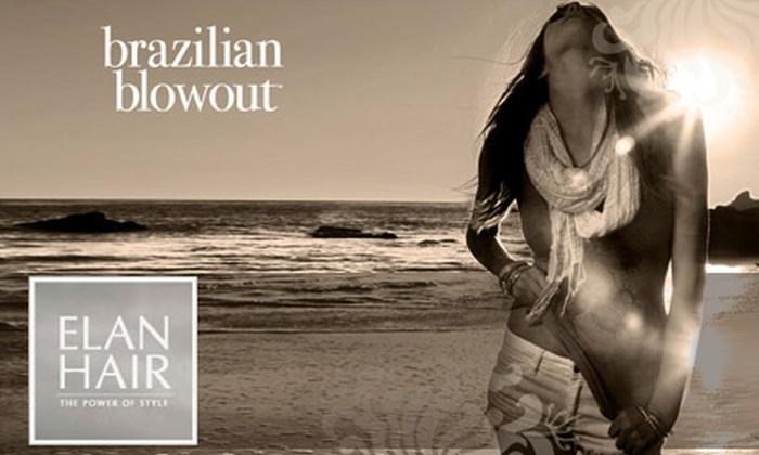 Elan Hair - Green Hills: $150 for a Brazilian Blowout at Elan Hair ($350 Value)