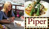 $14 for Cuisine at Piper Restaurant