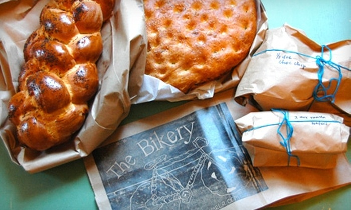 The Bikery - French Quarter: $5 for $10 Worth of Baked Goods from The Bikery