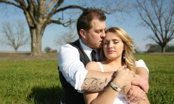 Golddust Photography - Multiple Locations: 60-Minute Engagement Photo Shoot from Golddust Photography (50% Off)