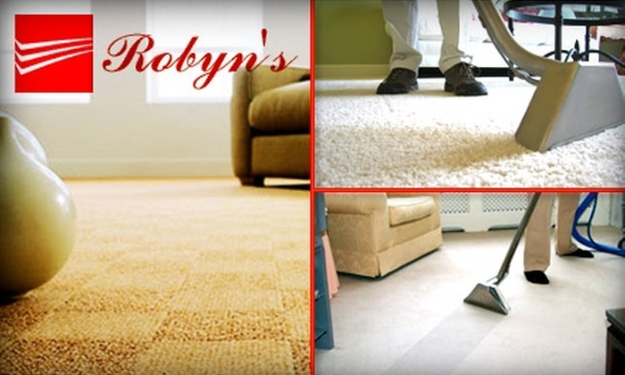 Robyn's Group - Downtown Indianapolis: $70 for Three Rooms' Worth of Carpet Cleaning from Robyn's Group (Up to $150 Value)