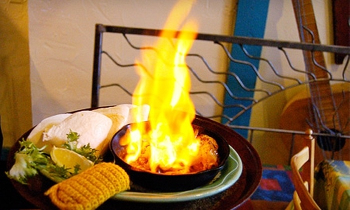 Under the Volcano - Central London: $12 for $25 Worth of Mexican Fare and Drinks at Under the Volcano