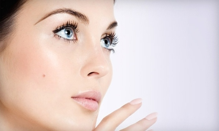 Glow Aesthetics - Tigard: $99 for Bio-Lifting Microdermabrasion Facial and Eye Contour or Acne Laser Treatment at Glow Aesthetics in Tigard ($250 Total Value)