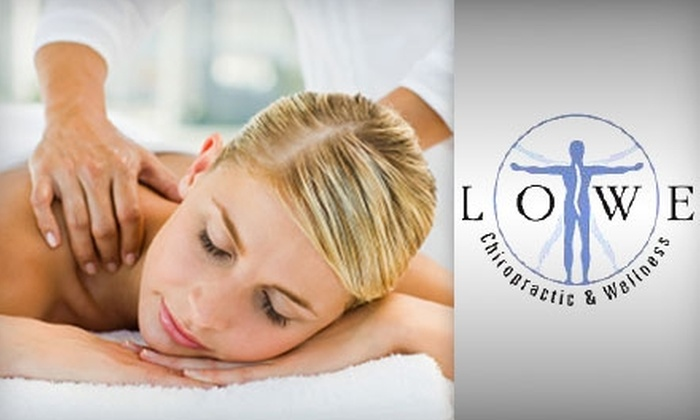Lowe Chiropractic & Wellness Center - Blue Ridge Manor: $49 for an Exam, X-Rays, and a One-Hour Massage at Lowe Chiropractic & Wellness Center