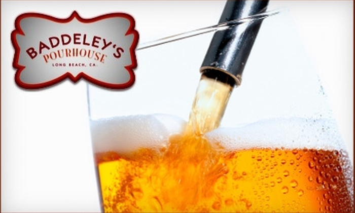 Baddeley's Pourhouse - Belmont Heights: $10 for $20 Worth of Drinks and Pub Fare at Baddeley's Pourhouse in Long Beach