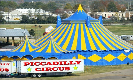 Piccadilly Cirus at the Hernando County Fair on Tue., Jan. 24 at 4:30PM: General Admission - Piccadilly Circus in Brooksville
