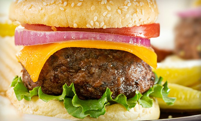 Mark's On 66 - Lyons: Kobe Burgers and Appetizers for Two or Four at Mark's On 66 in Countryside (Up to 54% Off)