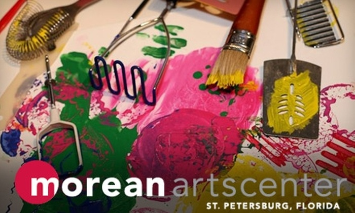 Morean Arts Center - Downtown St. Petersburg: $80 for Six-Week Art Class at Morean Arts Center ($165 Value)