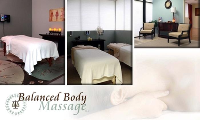Balanced Body Massage - Saint Louis: $30 for a One-Hour Therapeutic Massage at Balanced Body Massage ($60 Value)