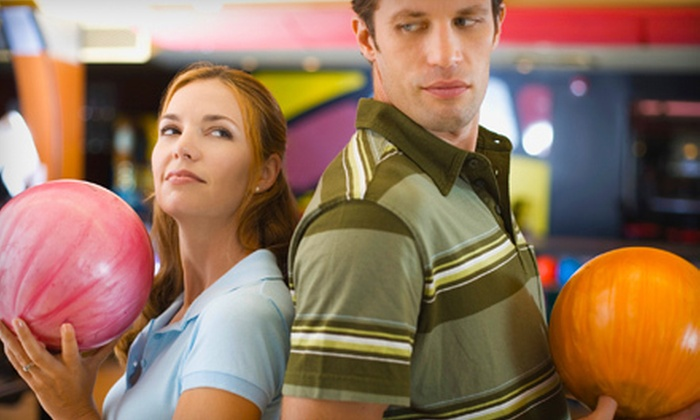 Stars and Strikes - Multiple Locations: Bowling, Arcade Games, and Laser Tag or Bumper Cars for Two or Six at Stars and Strikes (Up to 63% Off)