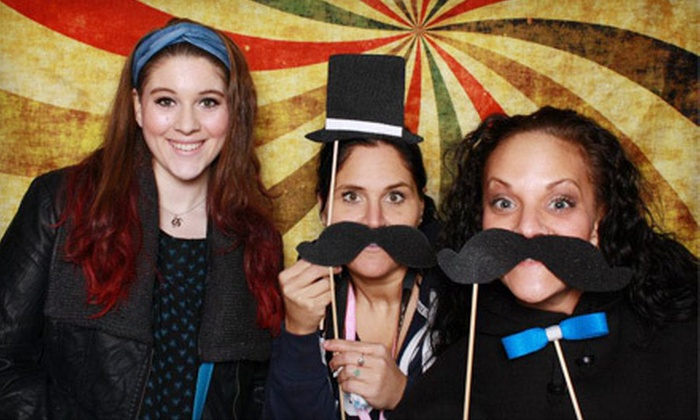 Blink FotoBooth - Seattle: $449 for a Three-Hour Photo-Booth Rental with Unlimited Prints from Blink FotoBooth ($975 Value)