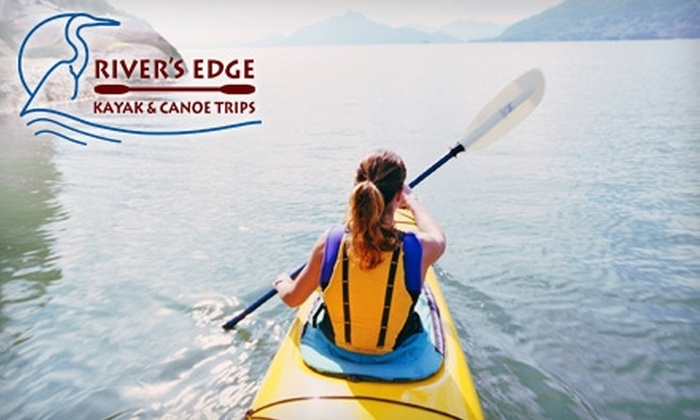 River's Edge Kayak & Canoe Trips - Healdsburg: Canoe Trip or River-Trip Gift Pack from River's Edge Kayak & Canoe Trips