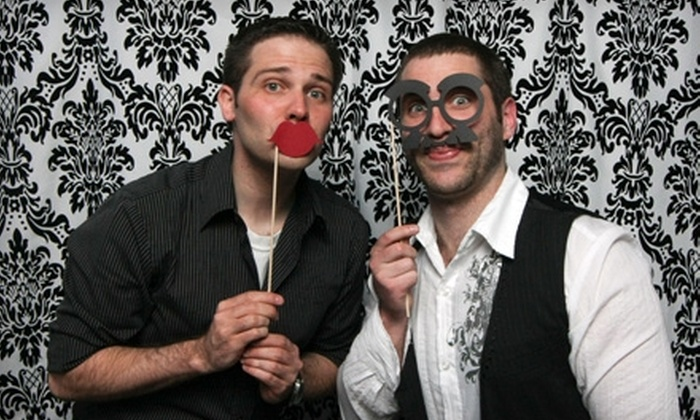 CM Photographics - Como: Two-Hour or Three-Hour Photo-Booth Rental with Delivery and Unlimited Online Photos from CM Photographics