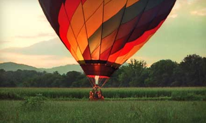 R.O. Franks Aviation Company - Greenville: $125 for a Hot Air Balloon Ride from R.O. Franks Aviation Company in Asheville, NC ($250 Value)