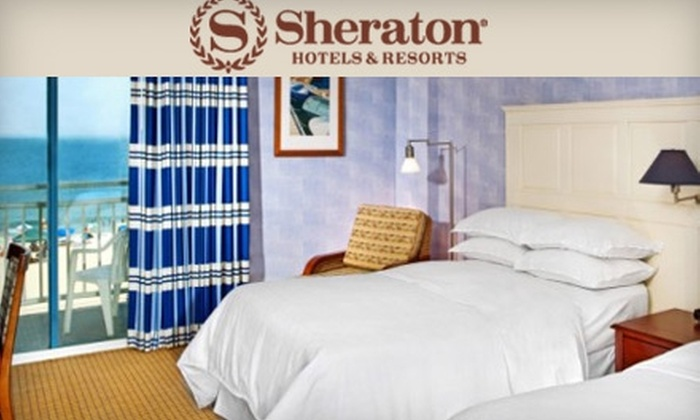 Sheraton Virginia Beach Oceanfront - Northeast Virginia Beach: $85 for a One-Night Stay, Breakfast for Two, and Internet Access at Sheraton Virginia Beach Oceanfront Hotel