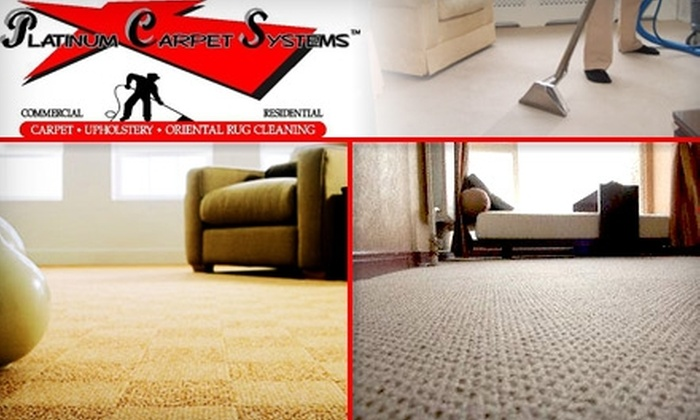 Platinum Carpet Systems - Atlanta: $39 for a Deep Steam Carpet Cleaning for Two Rooms with Platinum Carpet Systems ($85 Value)