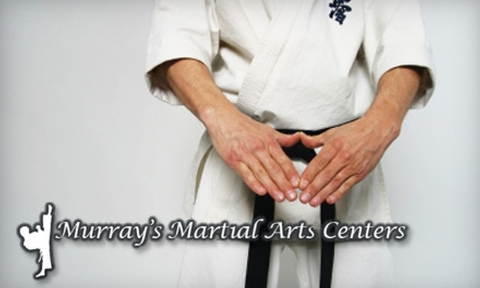 Murray's Martial Arts Centers - Multiple Locations: $49 for One-Month Membership and Karate Uniform from Murray's Martial Arts Centers ($170 Value)