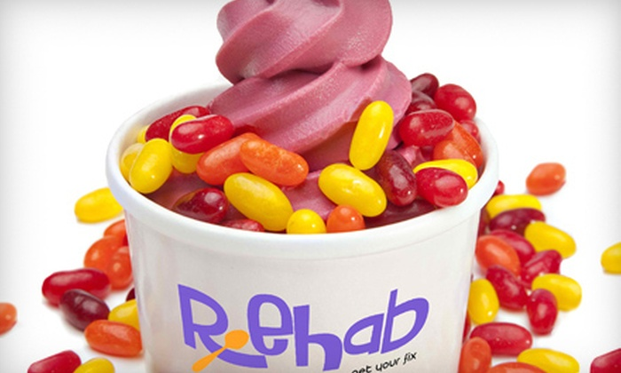 Rehab - Briarcliff Manor: 5 or 10 Frozen Yogurts or $5 for $10 Worth of Frozen Yogurt at Rehab in West Nyack